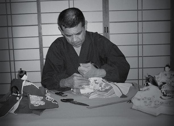 京都 雛人形師 片岡 尊正